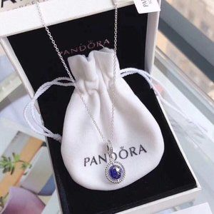 🎆NWT Pandora Spinning Globe Chain Necklace